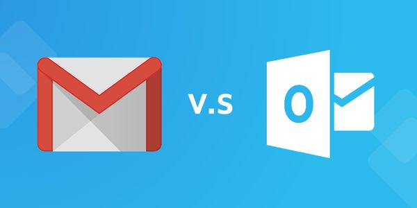 Gmail…. hay …. Outlook?