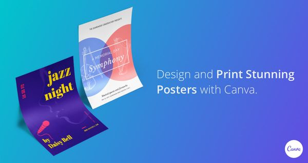 Thiết kế poster online với Canva